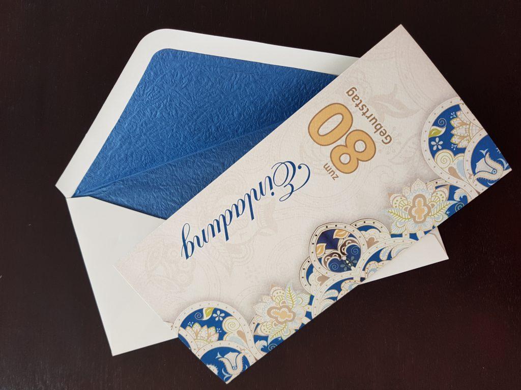 Einladungskarte Hannover