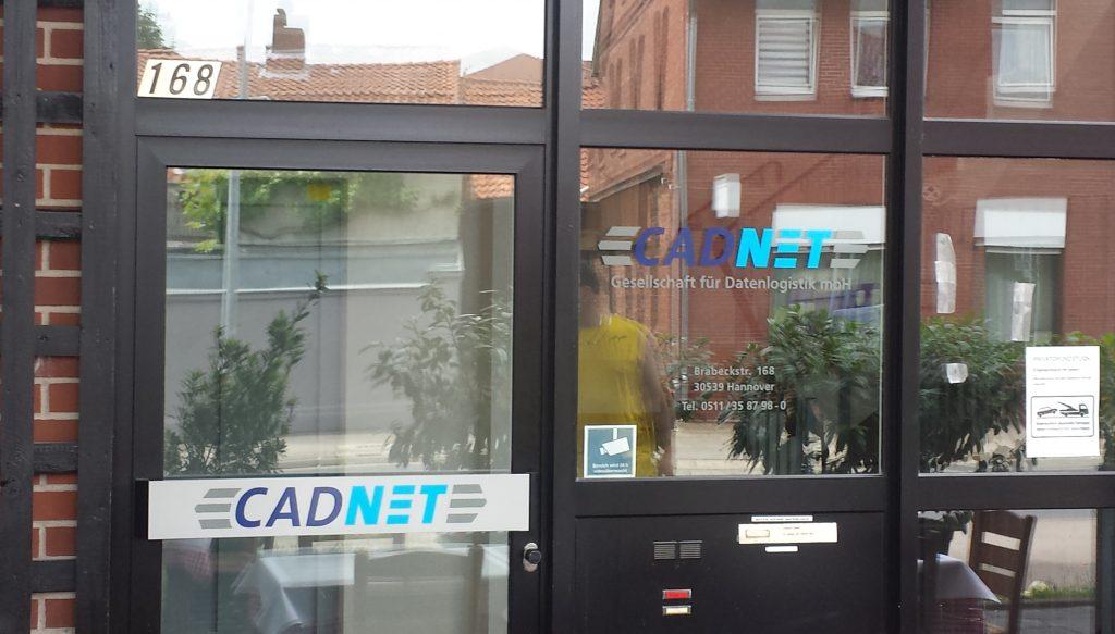 CADNET / Schild, Fenster, Tür - individuelle Gestaltung / Folien Beschriftung
