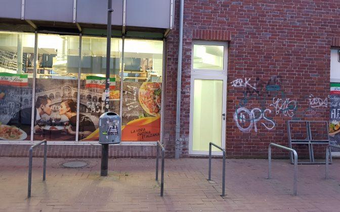 Da Tino / Markthalle Langenhagen - individuelle Fenster Gestaltung, Foliendruck inclusive Montage